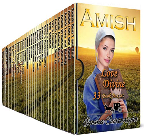 Amish Love Divine Boxset: Bumper Amish Romance  - 33 Book Box Set by [Cartwright, Emma]