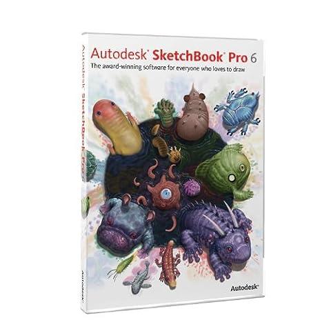 SketchBook Pro 6 [Old Version] (Wacom Air Brush Pen)