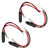 Etopars 4 x 12V Motorcycle Turn Signal LED Load Resistor Flash Blinker Fix Error Adaptor Universal