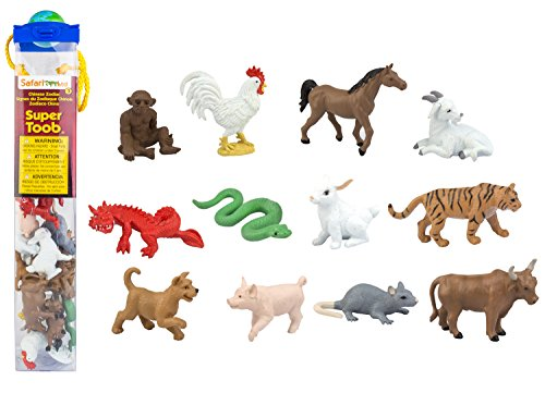 Safari SuperToob: Chinese Zodiac (Animal Chinese)