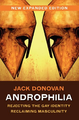 Book cover from Androphilia by Jack Donovan