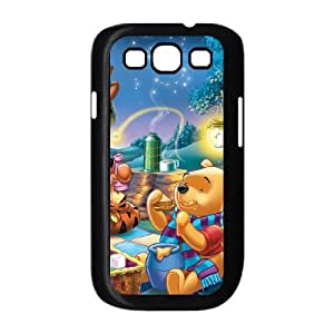 Samsung Galaxy S3 9300 Cell Phone Case Covers Black Many Adventures of Winnie the Pooh Phone cover O7506703