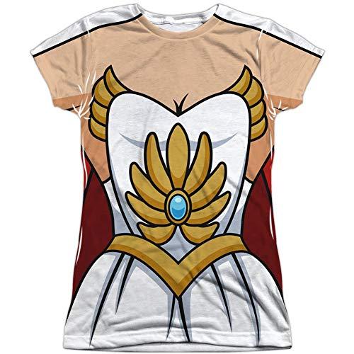 (Yummy Eletina She-Ra Princess of Power Juniors Sublimation Costume)