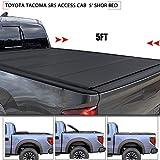 DakRide Hard Truck Bed Tonneau Cover For 2016 2017 2018 Toyota Tacoma SR5 access cab Fleetside 5' ShoR Bed