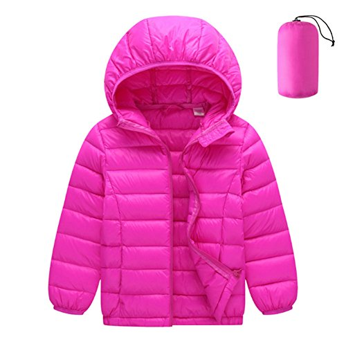 Coat Girls Windproof Meijunter Hooded Rose Down Red Duck Snowsuit Boys Warm Jacket Outerwear Kids YrqRqvxwE