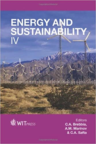 Energy and Sustainability: IV (WIT Transactions on Ecology and the Environment)