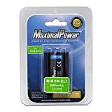 Maximalpower 900mah NIK En-EL1 Battery for ikon Coolpix 775, 880, 885, 995, 4300, 4500, 4800, 5000, 5400, 5700 & 8700 Digital Cameras, Fully Decoded w/ 3yr warranty