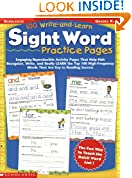 #10: 100 Write-and-Learn Sight Word Practice Pages: Engaging Reproducible Activity Pages That Help Kids Recognize, Write, and Really LEARN the Top 100 High-Frequency Words That are Key to Reading Success