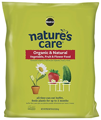 Miracle-Gro Nature's Care Organic and Natural Vegetable, Fruit and Flower Food ( 8 lbs ) by Miracle-Gro