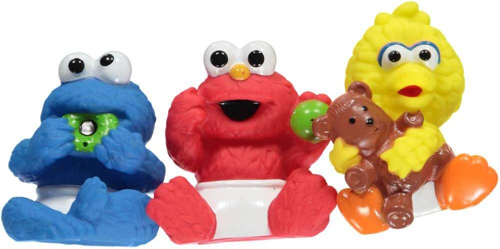 Sesame Beginnings 3-Pack Squirter Friends blue//multi one size