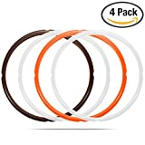 STYDDI Silicone Sealing Ring (Pack of 4) for Instant Pot 6 Qt or 5 Qt Models, Fits IP-DUO60, IP-LUX60, IP-DUO50, IP-LUX50, Smart-60, IP-CSG60 and IP-CSG50