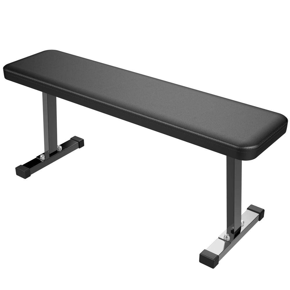 Topeakmart Heavy Duty Barbell Flat Weight Bench for Exercise Home Gym, 300lb Capacity by Topeakmart