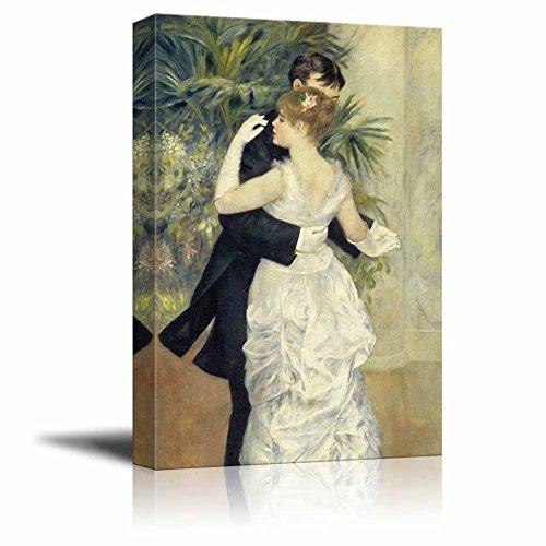 wall26 - Dance in Town by Pierre Auguste Renoir - Canvas Art Wall Decor - Dance Renoir