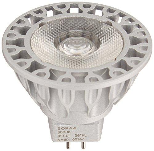 Bulbrite SM16-07-25D-930-03 SORAA 7.5W LED MR16 3000K VIV...