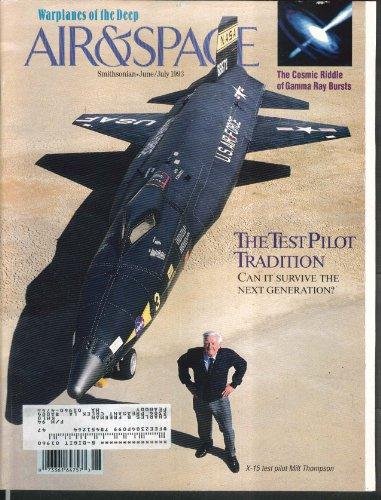 AIR & SPACE Smithsonian X-15 Milt Thompson Homer Hickam 6-7 1993
