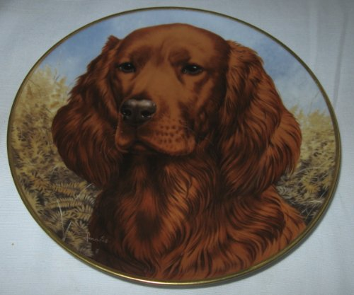 Collector's Plate: Irish Setter By Kaiser Porcelain for sale  Delivered anywhere in USA