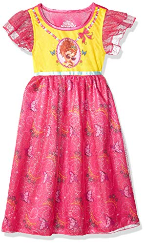 Disney Girls' Toddler Fancy Nancy Fantasy Gown, Pink, 3T -