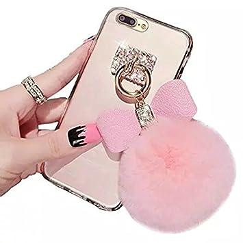 coque iphone 7 en peluche