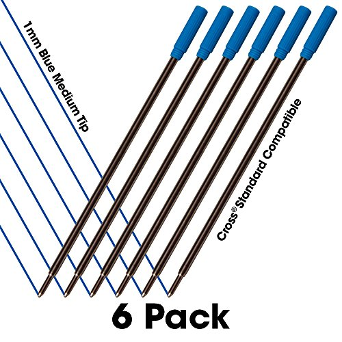 blue-cross-ballpoint-pen-standard-compatible-refills-6-pack-super-value-smooth-writing-1mm-medium-ti