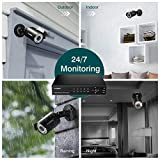 FLOUREON 8CH 6-in-1 Security Camera System 1080P