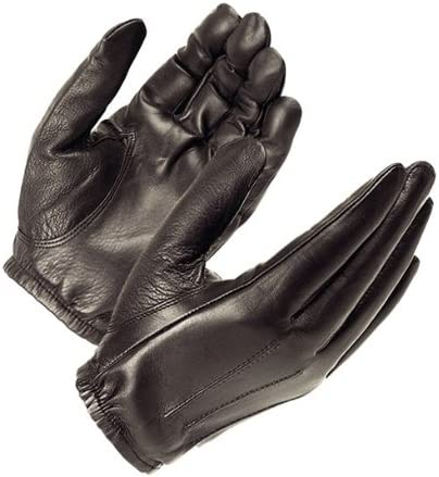 Thin Blue Leather Police Search Driving Gloves