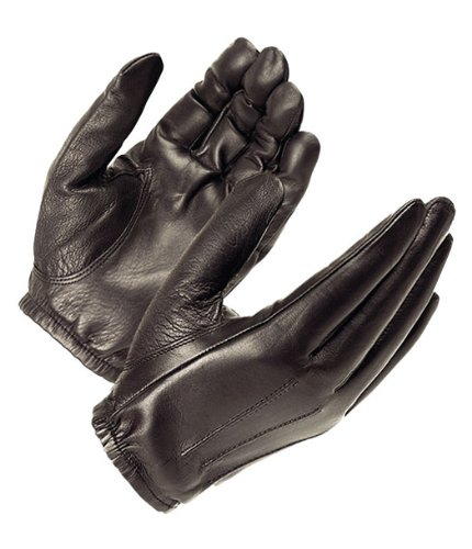 Black Driving Gloves - Hatch SG20P Dura-Thin  Search Glove, Black, Large