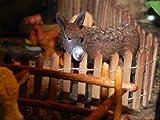 Collectible Figurine Animal Donkey Nativity Village Scene Figure - USA_Mall