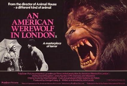27 X 40 An American Werewolf In London Movie Poster