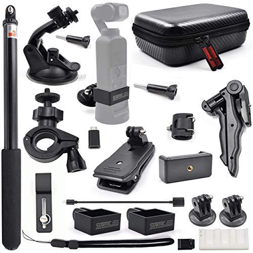 STARTRC OSMO Pocket 2 Expansion Accessories Kit,Handheld Action Camera Mounts for DJI Pocket 2