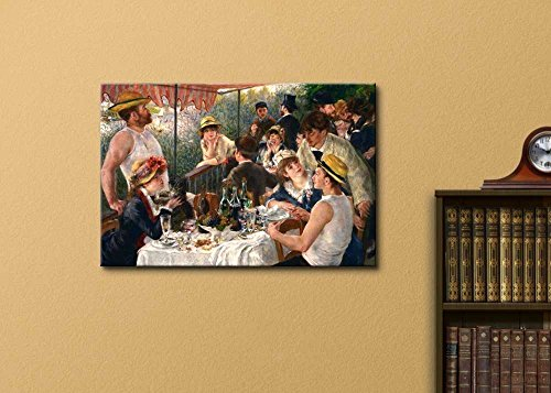 Luncheon of The Boating Party by Pierre Auguste Renoir Famous Fine Art Reproduction World Famous Painting Replica on Print