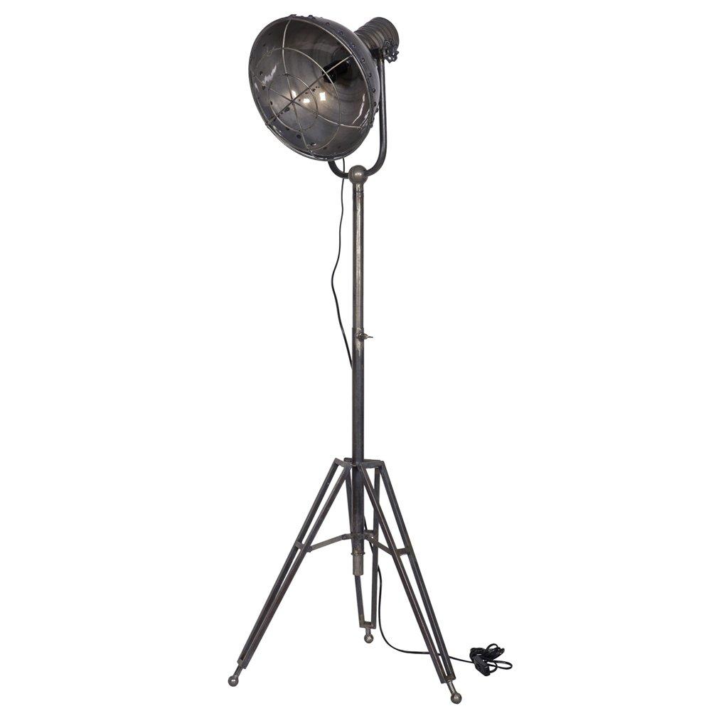 Vintage Stehlampe SPOTLIGHT Standleuchte Lampe Metall H 167 cm