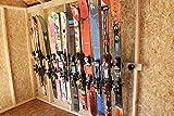 Button Ski Hangers, 5-Pack, to Build a Button Ski