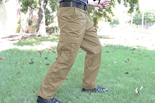 Rip-Stop Tactical BDU Pants Khaki Small - Cotton Bdu Ripstop Pants Khaki