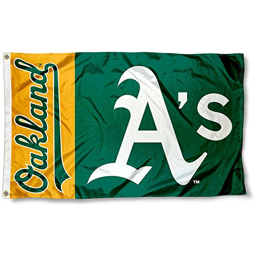 fan products of Oakland Athletics Flag 3x5 A's MLB Banner