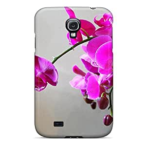 linJUN FENGDaMMeke Galaxy S4 Well-designed Hard Case Cover Violet Orchid Protector