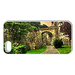 Inside the Citadel - Case Cover for iPhone 5 and 5S (Ancient Series, Watercolor style, White)