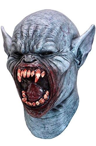(Vampire Blood Full Head And Neck Latex Mask Halloween Fancy Dress Adult)