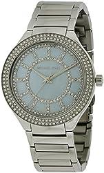 Michael Kors MK3395 Ladies Kerry Silver Tone Watch