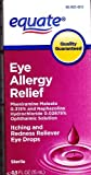 Eye Allergy Relief, 0.5 fl oz, Itching and Redness Reliever, By Equate by Equate
