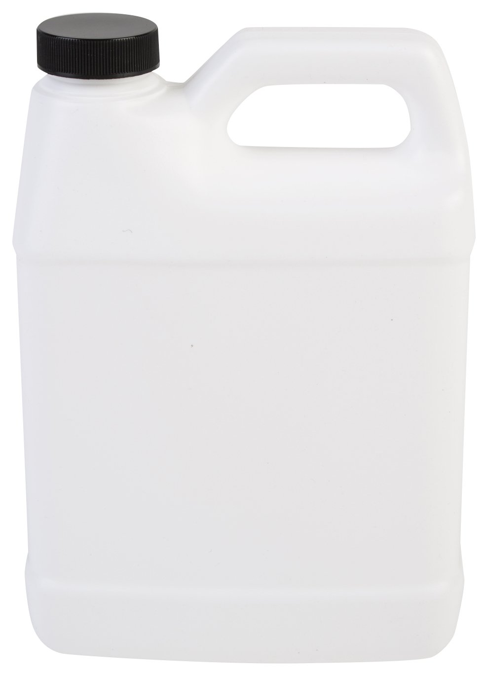 Consolidated Plastics Rectangular F-Style Bottle with Cap, HDPE, White, 32oz, 12 Piece by Consolidated Plastics