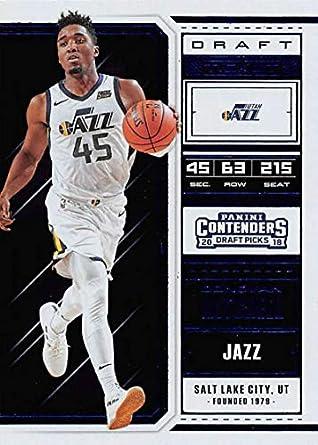 8cf3cd53b0e 2018-19 Panini Contenders Draft Picks Draft Ticket Variation Blue Foil  Basketball Card #15