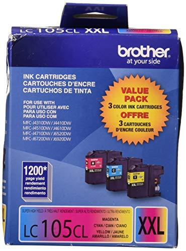 (Brother International LC1053PKS 3 Pack LC105C M)