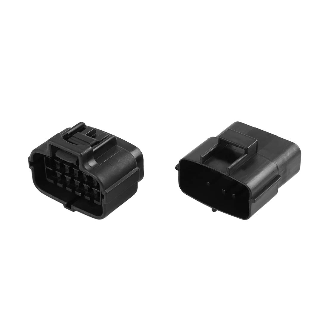 X AUTOHAUX 12 Pins Way Car Waterproof Electrical Connector Terminal Set