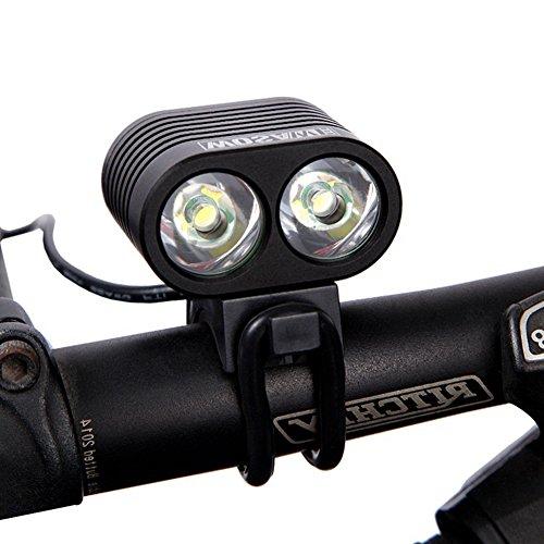 T & Y pour vélo à LED avec USB rechargeable 2* * * * * * * * CREE xmk- T6pour vélo LED avec arrière du vélo