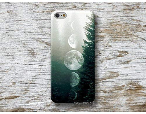 Funda Lunas Bosque para iPhone 4 5 5s SE 6 6s 7 Plus Samsung Galaxy s8 s7 s6 s5 A5 A3 J5... Huawei LG Moto Oneplus Sony HTC ....