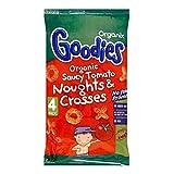 Organix Goodies Organic Saucy Tomato Noughts & Crosses 12mth+ (4x15g)