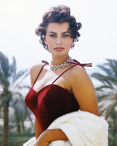 Moviestore Sophia Loren 25x20cm Farbfoto