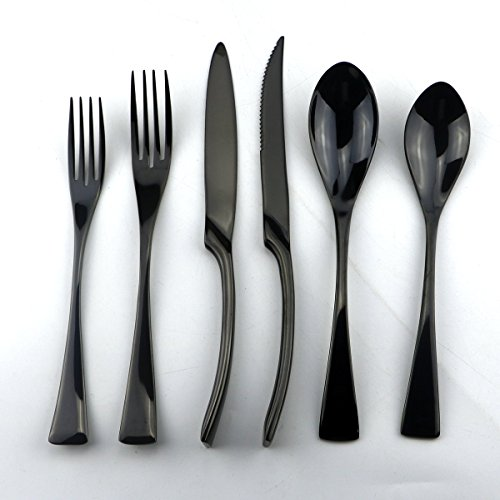 Stainless Steel 24piece Spoon and Fork - 1