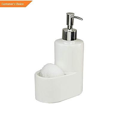 Amazon.com: Werrox New Ceramic Soap Dispenser with Sponge ...