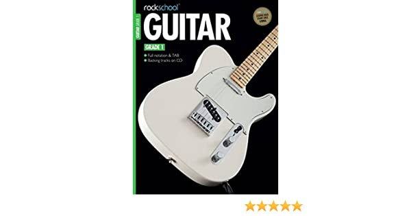 Rockschool Guitar Grade 1: Amazon.es: Rockschool: Libros en idiomas extranjeros